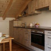 Die Küche des Studios