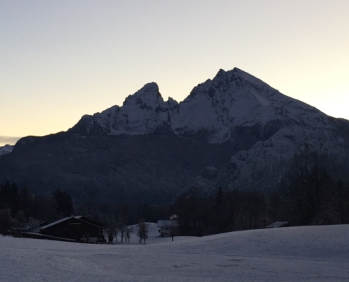 Watzmann Winter